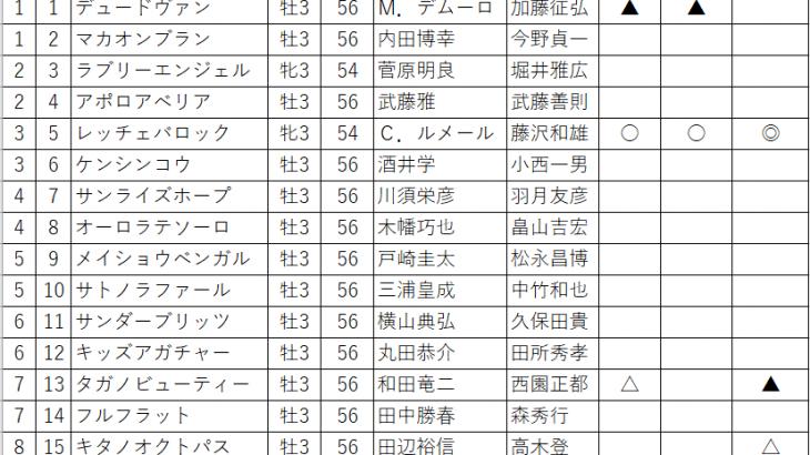2020 函館スプリントステークス ユニコーンステークス the  after
